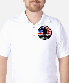 Vet_Sticker1 copy Golf Shirt