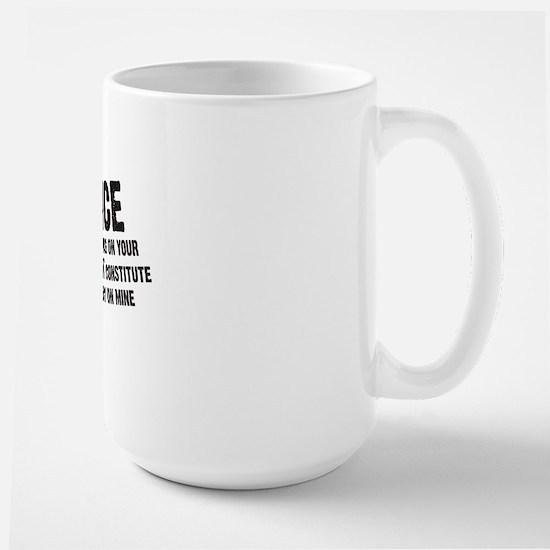 2-notmyemergency Large Mug