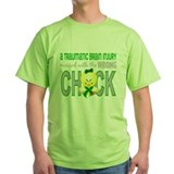 Brain injury awareness Green T-Shirt