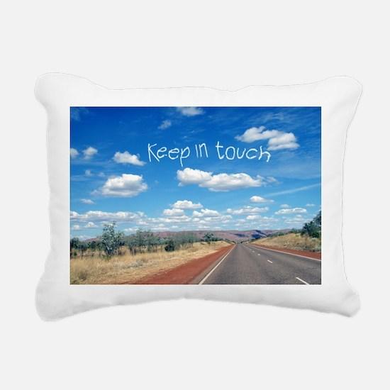 openroad_206_H_F Rectangular Canvas Pillow