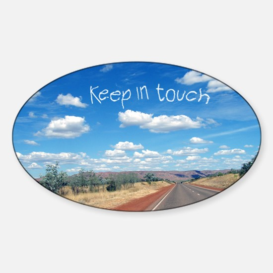 openroad_206_H_F Sticker (Oval)