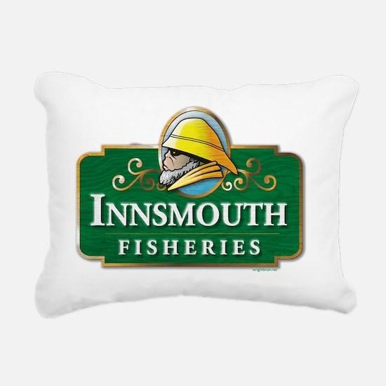 Innsmouth Fisheries Rectangular Canvas Pillow