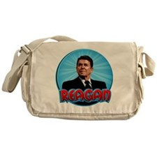 RonaldReaganCartoon2 Messenger Bag