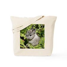 Rabbit in lettuce 1 Tote Bag