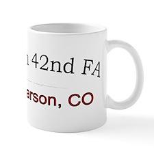 4th bn 42nd FA cap1 Mug