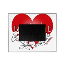 Twilight flower heart by twibaby Picture Frame