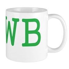 NEWB GREEN Small Mug