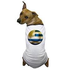 Uruguay World Cup Dog T-Shirt