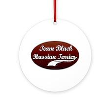 Team Terrier Ornament (Round)