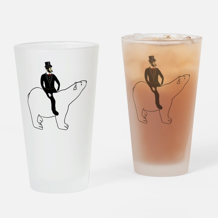 Noble Steed Drinking Glass