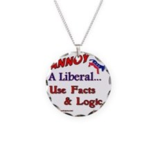 annoy a liberal Necklace