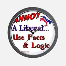 annoy a liberal Wall Clock