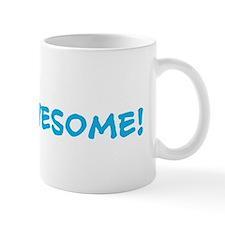 100% AWESOME WHITE Mug