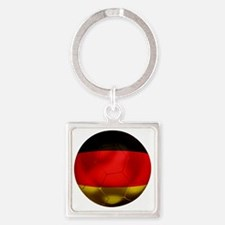 Germany Football1 Square Keychain