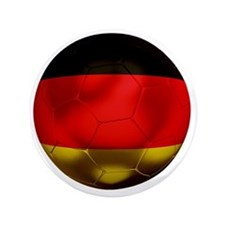 "Germany Football1 3.5"" Button"