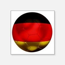 "Germany Football1 Square Sticker 3"" x 3"""