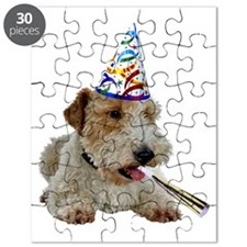 FIN-wire-fox-terrier-party Puzzle