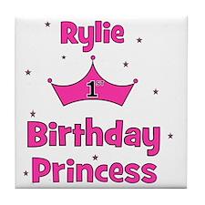 birthdayprincess_1st_RYLIE Tile Coaster