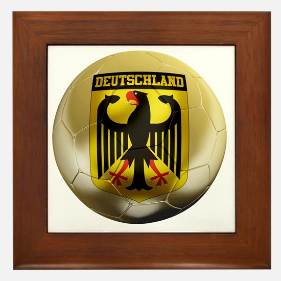 Deutschland Football1 Framed Tile