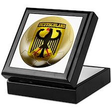 Deutschland Football1 Keepsake Box