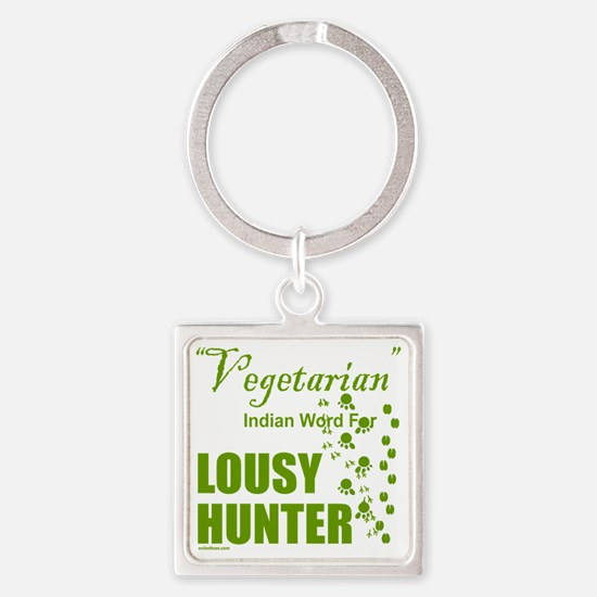 LousyHunter Square Keychain
