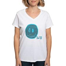 2-blue smiley Shirt