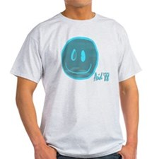 2-blue smiley T-Shirt