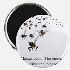 black flies 2 Magnet
