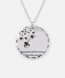 black flies 2 Necklace