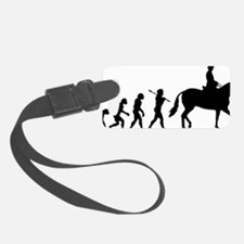 Horse Rider Luggage Tag