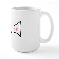 poker_fish_bl Mug