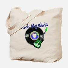Rock My World Tote Bag