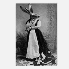 rabbit Postcards (Package of 8)