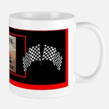 Old Cars Never Die! (11 x 4) Red+Blk Bu Mug