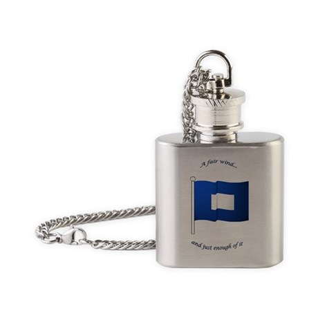 bluepeter[ornament] Flask Necklace