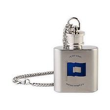bluepeter[ornament] Flask Necklace