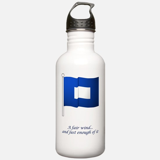 bluepeter[23x35_print] Water Bottle