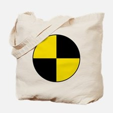 Crash Test Marker (Yellow and Black) Tote Bag