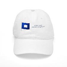 bluepeter[10x3_sticker] Baseball Cap