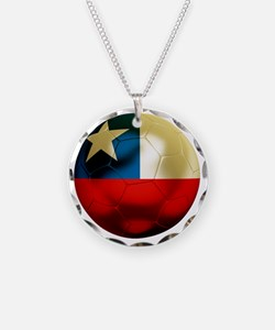 Chile Football Necklace