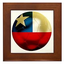 Chile Football Framed Tile