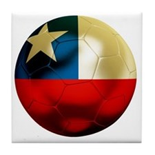 Chile Football Tile Coaster