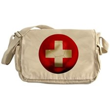 Switzerland Football Messenger Bag