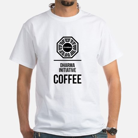 Lost Dharma Initiative Coffee T-shirt