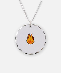 Dharma Flame -dk Necklace