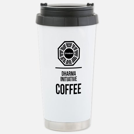 LOST Dharma Initiative Travel Mug