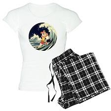 Vintage Art Deco Love Roman Pajamas