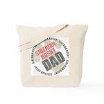 Siberian Husky Dad Tote Bag
