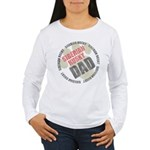 Siberian Husky Dad Women's Long Sleeve T-Shirt