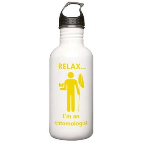 2-relax I am an entomo Stainless Water Bottle 1.0L
